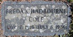Freda Alberta <i>Cole</i> Chadbourne
