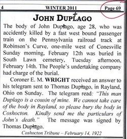 John Duptago