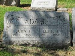 Edith H Adams