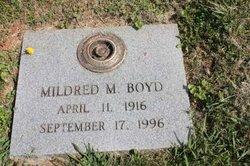 Mildred M. Boyd
