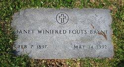 Janet Winifred <i>Fouts</i> Bayne
