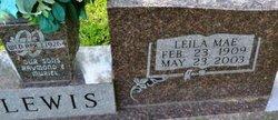 Leila Mae <i>McGuyer</i> Lewis