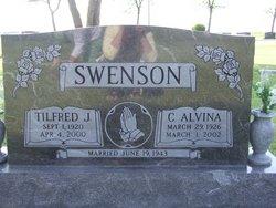 Cora Alvina <i>Floberg</i> Swenson