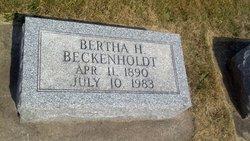Bertha <i>Hender</i> Beckenholdt