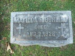 Matilda <i>Reinshagen</i> Bohling