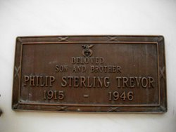 Philip Sterling Trevor, I