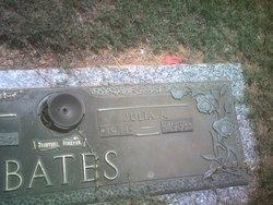 Julia <i>Allen</i> Bates