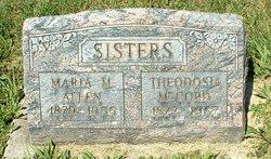 Theodosia <i>Allen</i> McCord