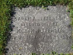 Sarah A. <i>Warren</i> Jefferson