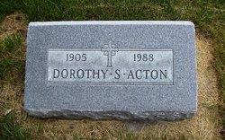 Dorothy S <i>Schmode</i> Acton