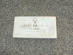 Avery Craig, Jr