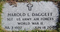 Harold L Daggett