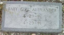 Baby Girl Alexander