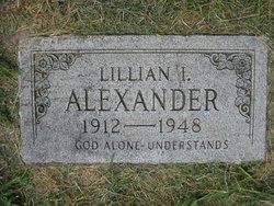 Lillian Irene <i>Epps</i> Alexander