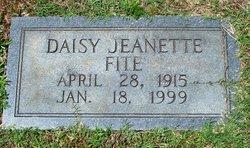 Daisy Jeanette Fite