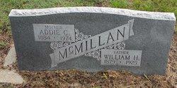 Addie C McMillan