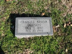 Frances <i>Kinzer</i> Dodson