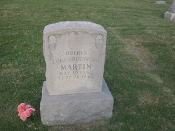 Cora <i>Morris</i> Underwood Martin