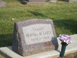 Bertha Minnie Granny <i>Baker</i> Laity