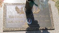 Virginia <i>Ballard</i> Allen