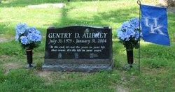 Gentry D Aubrey