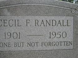 Cecil F. Randall
