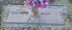 Lois J <i>Burden</i> Axe
