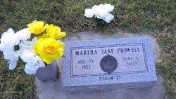 Martha Jane <i>Corbin</i> Prowell