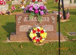Thelma M. <i>Murray</i> Alexander
