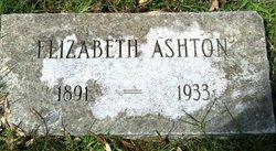 Elizabeth E <i>Swan</i> Ashton
