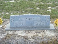 Minnie <i>Hudson</i> Allen