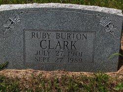 Ruby <i>Burton</i> Clark