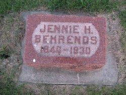 Jennie <i>Flessner</i> Behrends