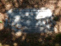 Margaret Ann Crazy Peg <i>Ott</i> Allcott