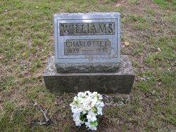 Charlotte Catherine <i>Hutton</i> Williams