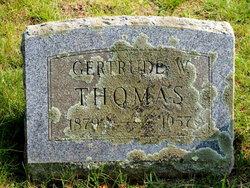 Gertrude Wilson <i>Spooner</i> Thomas