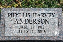 Phyllis <i>Harvey</i> Anderson