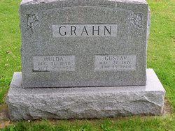Hulda Anna <i>Schultz</i> Grahn