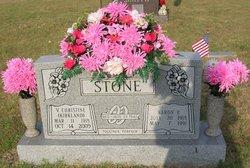V Christine <i>Kirkland</i> Stone