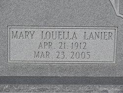 Mary Louella <i>Lanier</i> Brantley