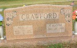 Neil J Crawford