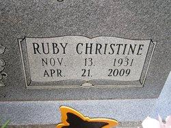 Ruby Christine <i>Fahning</i> Schnautz