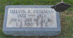 Melvin R Paskman