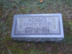 Grace <i>Cash</i> Adams