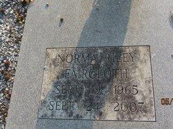 Norma <i>Riley</i> Faircloth