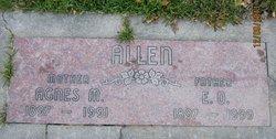 Agnes Mae <i>Kirklin</i> Allen