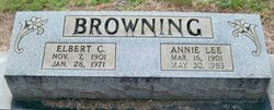 Annie Lee <i>Crocker</i> Browning