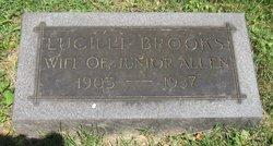 Lucille <i>Brooks</i> Allen