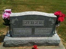 Ethel Frances <i>Hanke</i> Zeiger