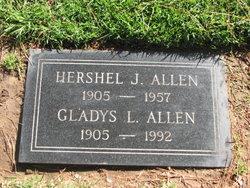 Gladys Louise <i>Clark</i> Allen